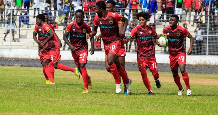 Asante Kotoko progress to MTN FA Cup round 32 after convincing 3-1 victory over Thunder Bold as Evans Adomako hit brace