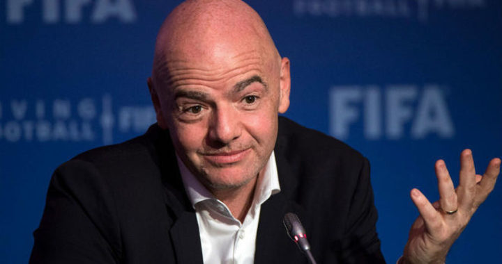 Gianni Infantino sends message to Mamelodi Sundowns after fourth consecutive PSL title victories