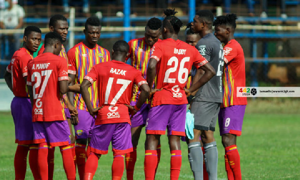 Hearts of Oak thrash Liberty Professionals to make progression into round 32 of Ghana FA Cup