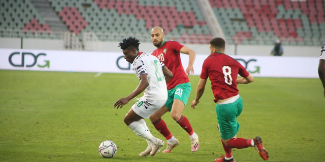 Hakim Ziyech comes off the bench with assist as Morocco beat Ghana in warm up friendly