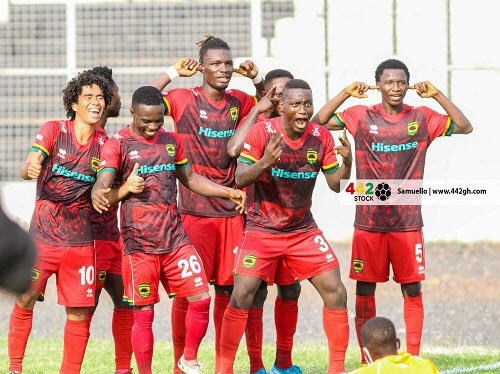 Asante Kotoko crushed out of MTN FA Cup after 4-5 defeat to Berekum Chelsea in quarter-finals