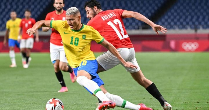 Egypt exit Olympic games after Matheus Cunha strike sends Brazil to semi-finals