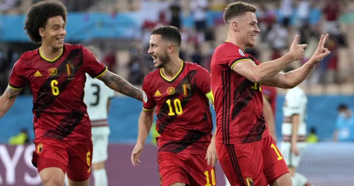 Belgium dealt big blow in Euro 2020 quarter-finals against Italy as Eden Hazard misses in lineup while Chiesa starts