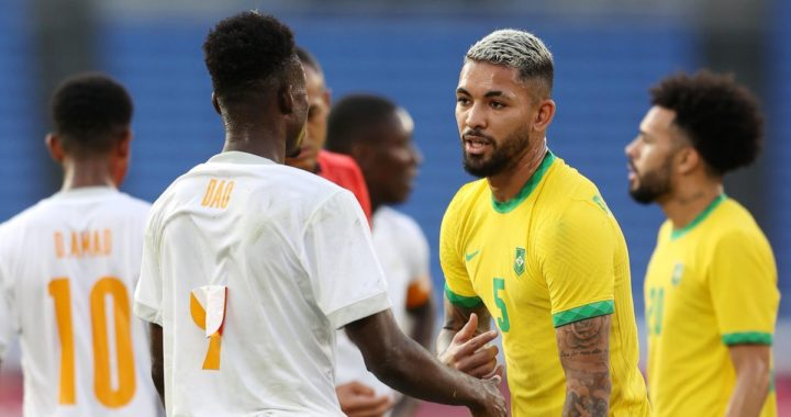 Ivory Coast share spoils with Brazil in Olympics as quarter-finals progression delayed