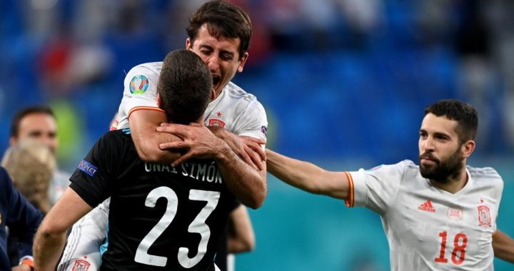 Spain make fourth European Championship semifinals from penalties after Beating Switzerland 3-1 on shootout in Petersburg