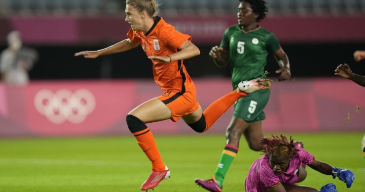 Barbra Banda grabs hat-trick against Holland in Tokyo Olympic Women football opener but not enough as ZAMBIA lose 3-10