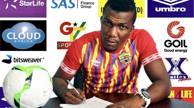 Hearts of Oak part company with former Al Hilal forward Abednego Tetteh