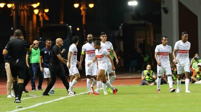 ZAMALEK close to breaking Al Ahly five year dominance of Egyptian Premier League after come back against Ceramica Cleopatra