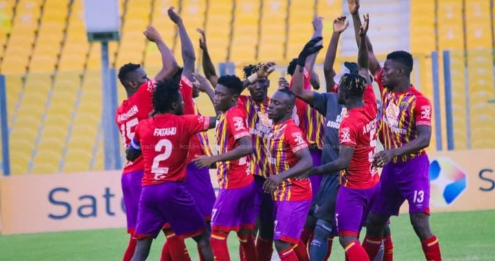 Hearts of Oak handed Guinean side Club Industriel de Kamsar in Caf Champions League preliminary stage