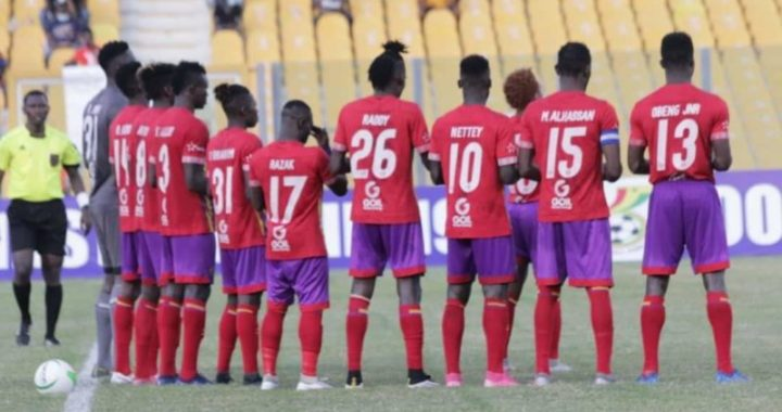 Hearts of Oak complete covid-19 test ahead of Caf Champions League campaign