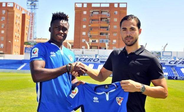 Recreativo de Huelva sign Ghanaian defender Joshua Kweku Anaba as Spanish side announce transfer