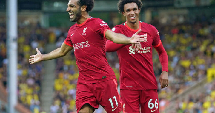 Liverpool continue dominant start to Premier League after beating Norwich City at Anfield