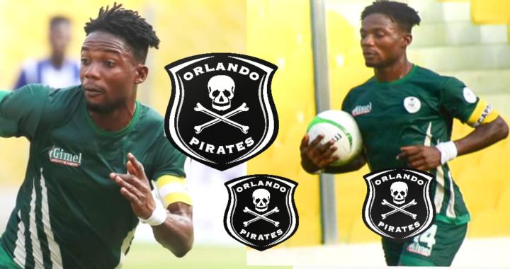 Kwame Peprah: King Faisal announce transfer to Orlando Pirates worth $150,000 until 2024