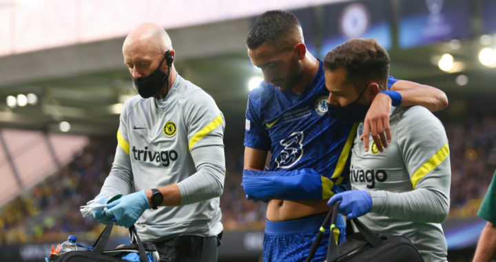 Chelsea boss Thomas Tuchel provides update on Hakim Ziyech injury as Moroccan misses Arsenal clash