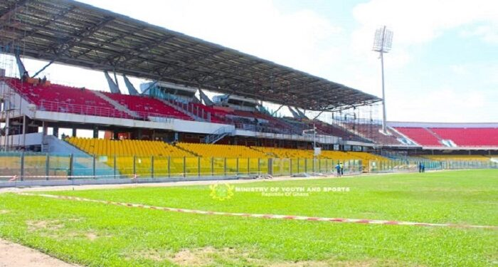 Approved Ghana Premier League stadiums as the GFA announce decision on Match venues