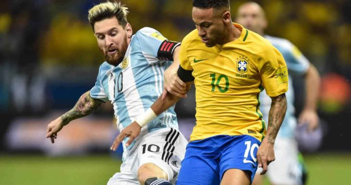 Brazil vs Argentina confirmed lineups as PSG duo Messi and Neymar start 2022 FIFA World Cup qualifiers
