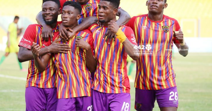 Hearts Caf Champions League game against CI Kamsar to be played behind closed doors