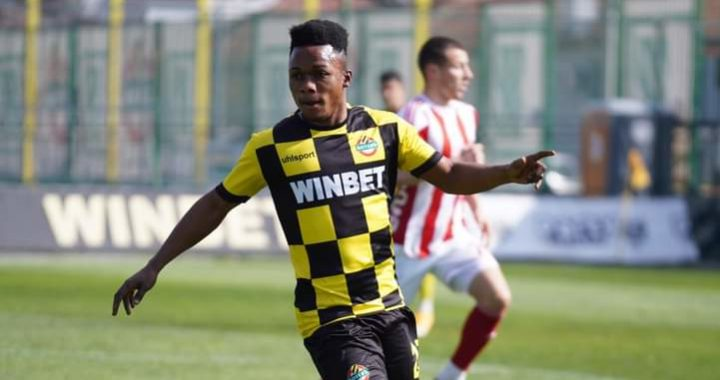 Emmanuel Toku hits second goal of the season as Botev Plovdiv beat PFC Boroe in Bulgaria top flight