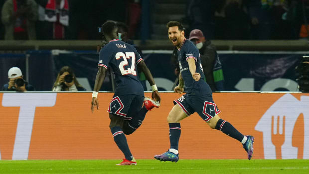 Africa in PSG-Man City: Idrissa Gana Gueye nets in PSG victory, Hakimi starts as Mahrez shines for City in Champions League
