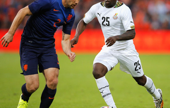 Schlupp reports in Black Stars camp ahead of 2022 World Cup qualifiers against Ethiopia and South African