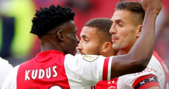 Mohammed Kudus scores again as Ajax brush aside Fortuna Sittard in Eredivisie