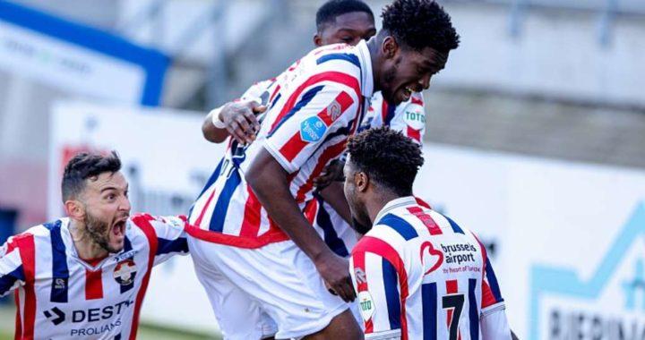 Kwasi Okyere Wriedt nets in Willem II 2-1 victory over Walwijk in Holland