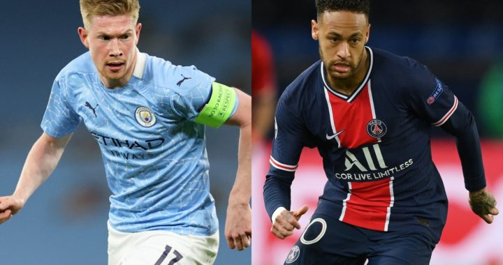 Confirmed lineups: Messi, Neymar and Mbappe start for Paris Staint-Germain whiles Mahrez, Sterling, De Bruyne and Grealish start for Manchester City in Champions League