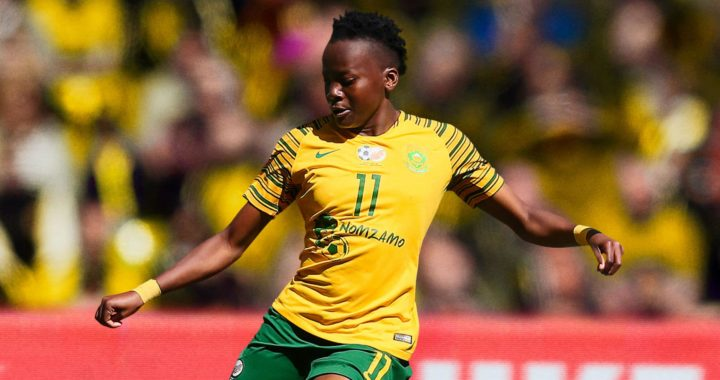 South African sends championship warning after beating Ghana 3-0 in Aisha Buhari Cup