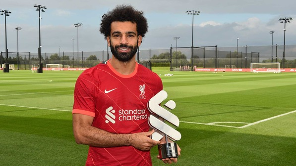 Mohamed Salah: Egyptian International wins Liverpool Player of the Month for August