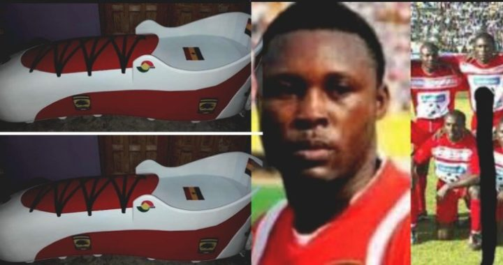 Godfred Yeboah to be buried in Kotoko designed football boot casket