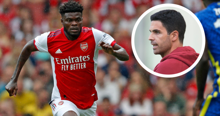 Thomas Partey suffers fresh injury in Arsenal narrow victory over Burnley