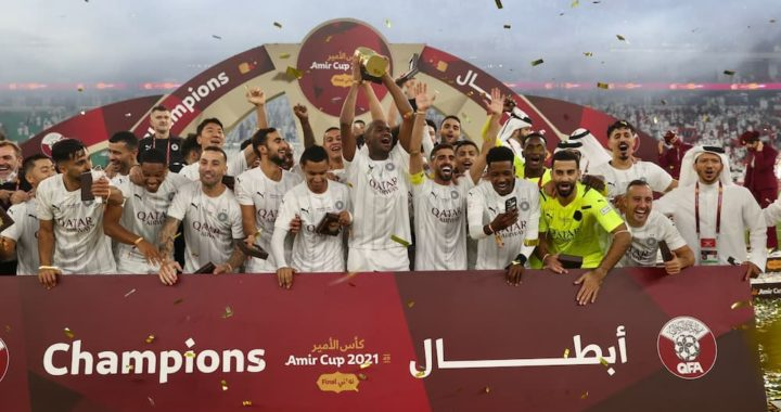 Andre Ayew lifts first cup in Qatar after Al Sadd beat Al Rayyan to 'Emir Cup' on penalty shootouts