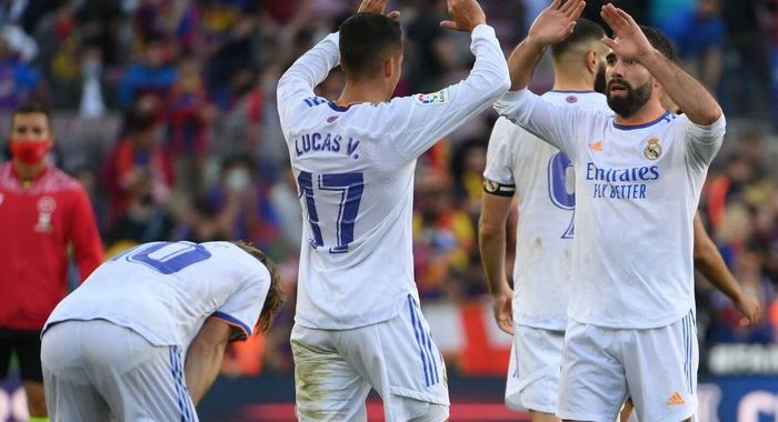 David Alaba nets in first Clasico as Real Madrid beat Barcelona fourth consecutive time