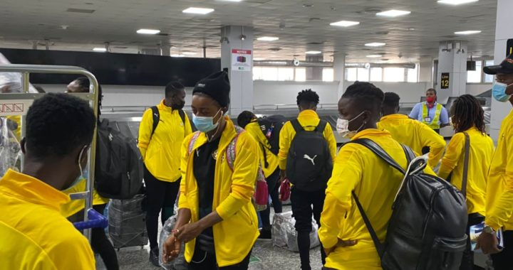 Black Queens arrive in Lagos ahead of AWCON qualifiers against Nigeria