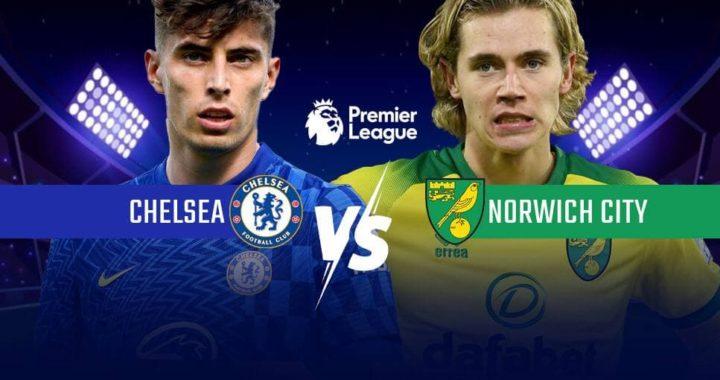 Chelsea vs Norwich confirmed lineups as Kai Havertz leads attack in absence of Romelu Lukaku