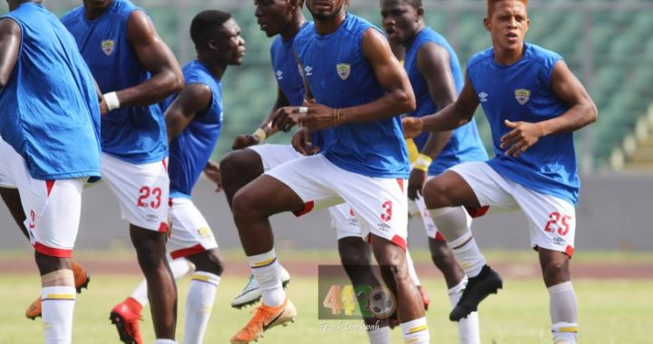 All pictures from Hearts of Oak first training session in Morocco ahead of Wydad Athletic second leg game as Ghana Sports Ministry urge Phobia to eliminate WAC