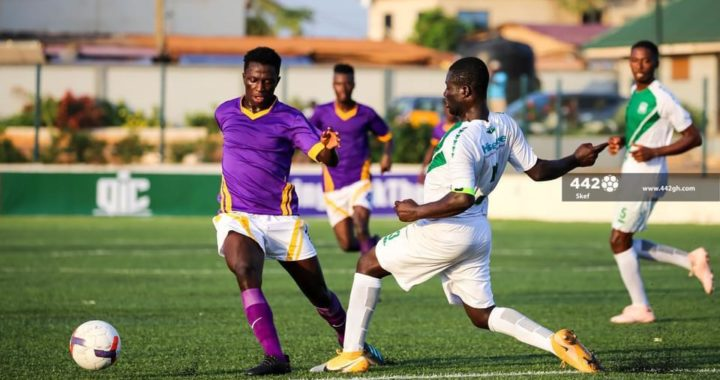 Emmanuel Marmah fires Tema Youth to top of Division One League Super Cup after defeating sloppy Bofoakwa Tano in first game