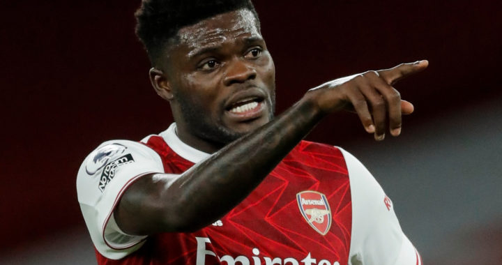Sky Sports coins NEW TERM for Thomas Partey as Arsenal's 'midfield boss' underlines his importance to Mikel Arteta's side in win over Aston Villa