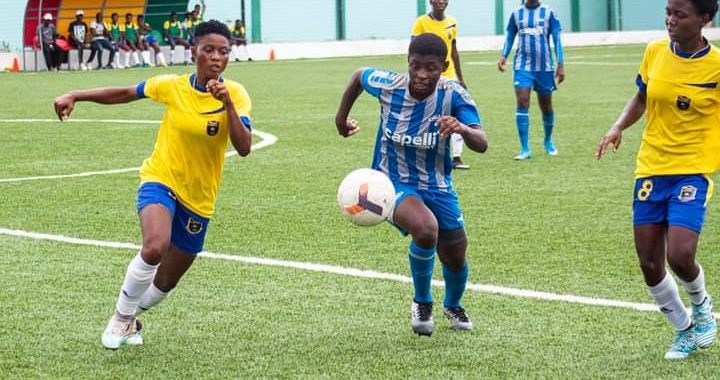 Faith Ladies and Valued Girls level on points in Southern Zone as chase for promotion to Ghana Women's Premier League becomes hotter